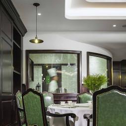北京觅舍酒店餐桌设计图
