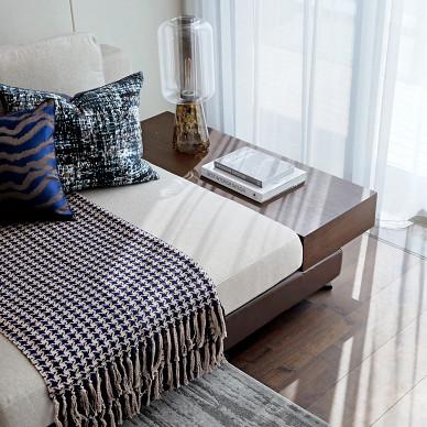 低调现代复式客厅设计图