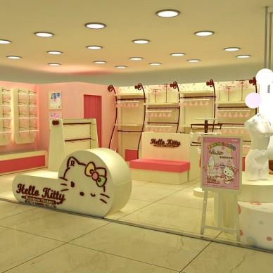 HELLO KITTY 内衣店设计_3534433