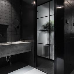 45㎡小户型现代卫浴设计