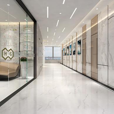 恒光集团公司办公室装修设计_3544301