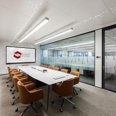 杰恩设计 姜峰丨高端办公会议室设计