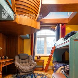 法式浪漫别墅儿童房设计图片