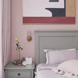 浪漫现代卧室床头柜设计