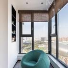 140㎡优雅中式阳台设计