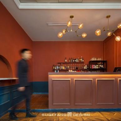 蘇格出品?五月羅馬西餐廳吧臺設計