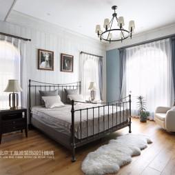 温情美式风卧室设计图片