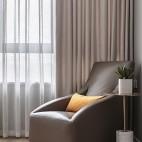 明亮简洁现代卧室休闲一角设计