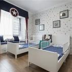 清新美式儿童房设计图