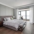 四居中式风主卧室设计