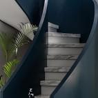 现代复式改造楼梯设计