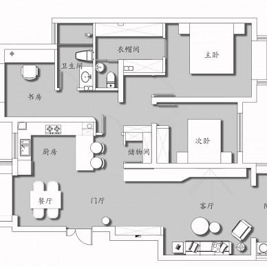 汉莎设计丨芜湖泰华家园现代混搭实景_3598052