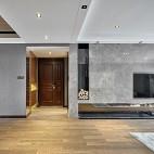 温馨现代风客厅背景墙设计