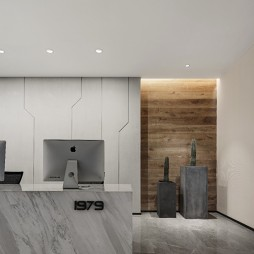 1979室内设计有限公司前台设计