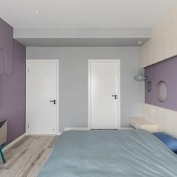 Donuts北欧风卧室设计实景图
