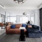 现代复古客厅沙发图