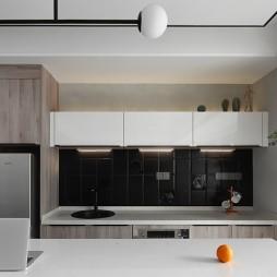 简单现代风厨房设计图