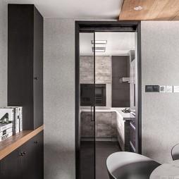 台式现代风厨房实景图片