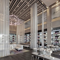 上海君御公馆接待中心洽谈区设计