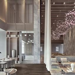 上海君御公馆接待中心接待区设计