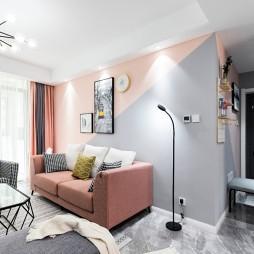 北欧风三居客厅沙发图片