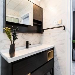 北欧风三居卫浴洗手台设计