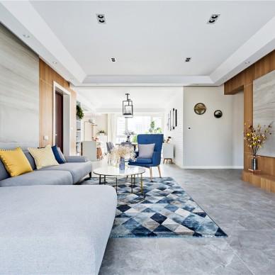 贵阳4居室,客餐厅很宽敞,色调很北欧!_3610077