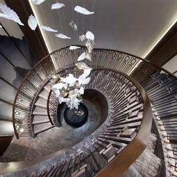 金悦府售楼处楼梯设计图