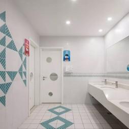 臺州市中心幼兒園洗手臺設計