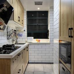 北歐極簡風廚房設計圖片