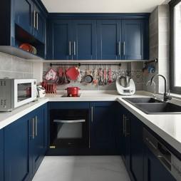 典雅混搭风厨房设计图片