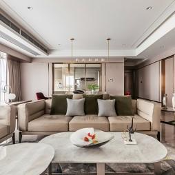 雅奢现代客厅实景图片