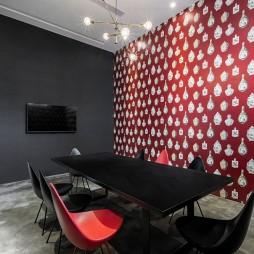 中西合璧辦公空間會議室設計