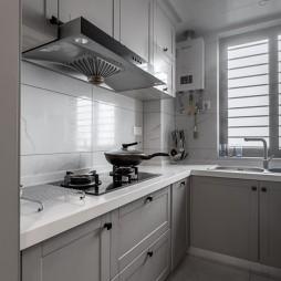 新美式風廚房櫥柜設計