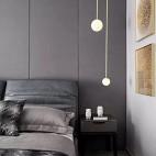 前卫现代风卧室吊灯图片