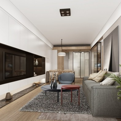 宝安福永90m²住宅设计