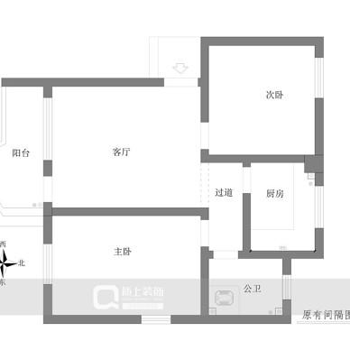 设计案例 | 洛城50㎡小两居尽显小确幸_3641505
