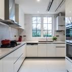 现代时尚风厨房实景图片
