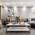 简单客厅沙发布局图