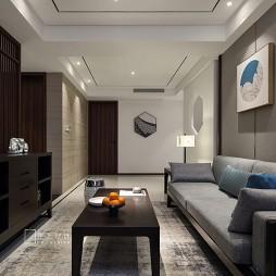 细腻中式风客厅沙发图片