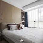 宁静现代风次卧设计图