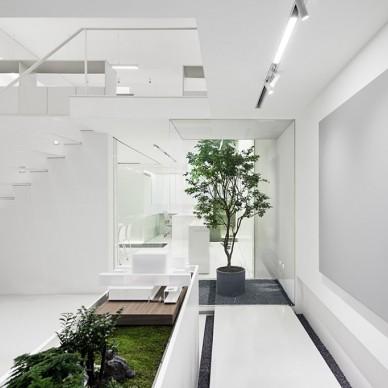 拥有众多花园的办公空间_3646896