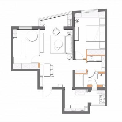 105平米老房改造+超实用卫生间