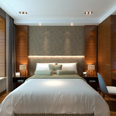 现代风——客厅改卧室设计之路