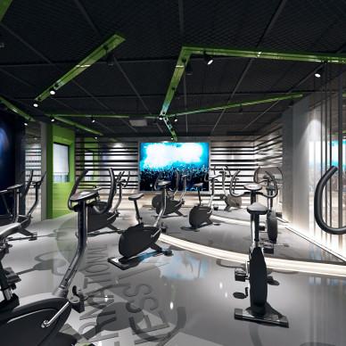健身房-空间动感_3657937