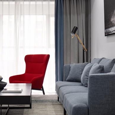 松泽家园120平—客厅图片