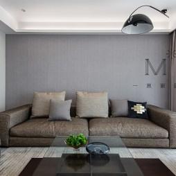 素言170㎡现代—客厅图片