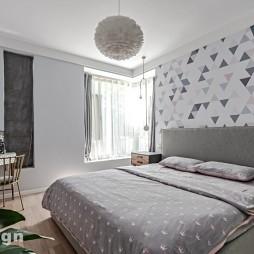 优雅格调北欧风—卧室图片