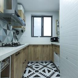 90平米北欧极简—厨房图片
