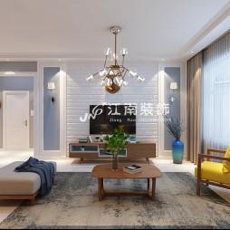 哈尔滨装修公司江南装饰华润中央公4效果图_3707975